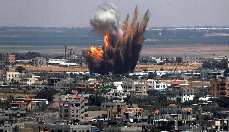 Resultado de imagen para Mueren 8 melicianos progubernamentales en bombadero en frontera de Sirias
