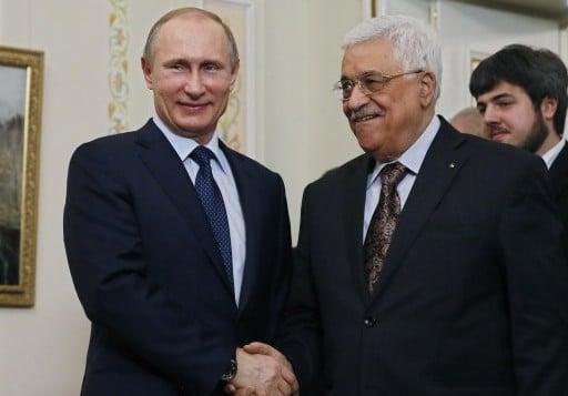 Resultado de imagen para Mahmoud Abbas y Putin