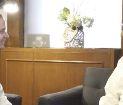 """Presidente de la Comunidad judía se reúne con Ricardo Anaya, candidato de la coalición """"Por México al Frente"""" a la Presidencia de la República"""