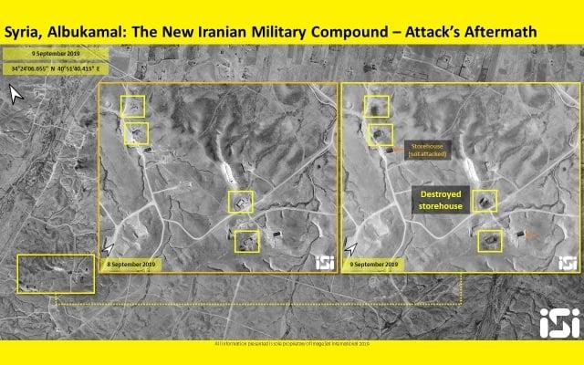 Aviones israelíes atacan frontera entre Siria e Irak