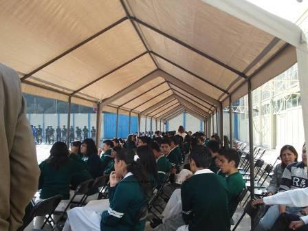 WIZO de México dona mobiliario escolar a secundaria