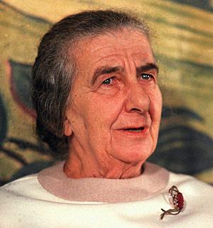 Golda Meír, la madre judía del Estado israelí