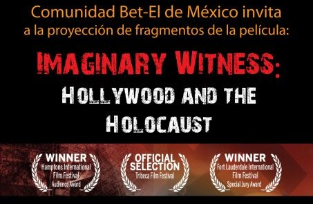 Se proyecta en Bet El la película: Imaginary Witness, Hollywood and The Holocaust
