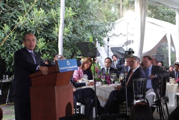 Palabras de Felipe Calderón Hinojosa en la Comida con la Comunidad Judía de México