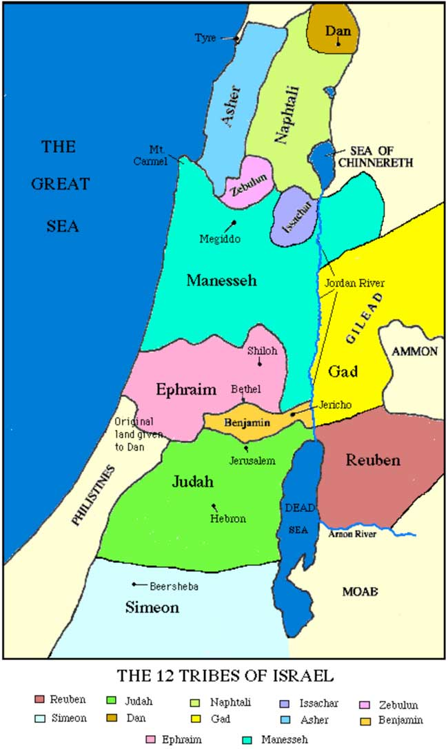 Judaísmo ABC | Doce Shevatim: Las Doce Tribus de Israel
