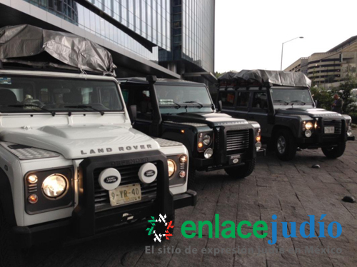 Liderado Por Miembro De La Comunidad Caravana Jaguar Land Rover Al