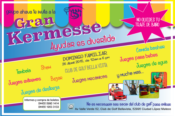 Organiza Wizo Kermesse Familiar Enlace Judio