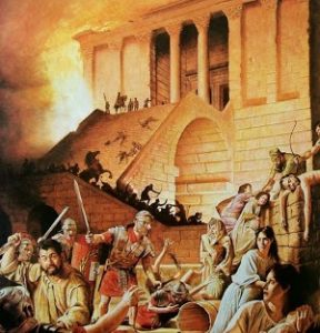 Roman destruction of Jerusalem in 70 C.E