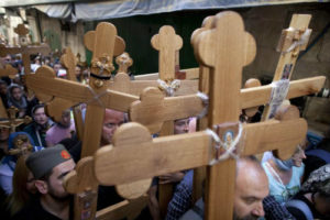 Peregrinos cristianos