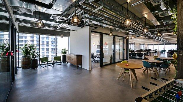 Conoce las nuevas oficinas de facebook en israel enlace for Oficinas de arquitectura