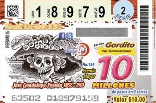 Resultado de imagen para billete de lotería