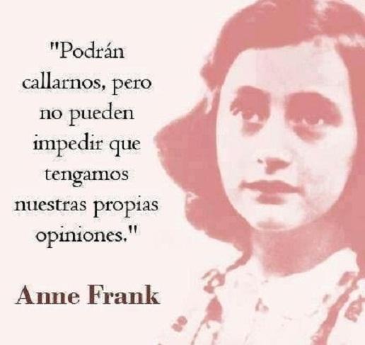 Ana Frank Sus Mejores Frases Y Enseñanzas Enlace Judío
