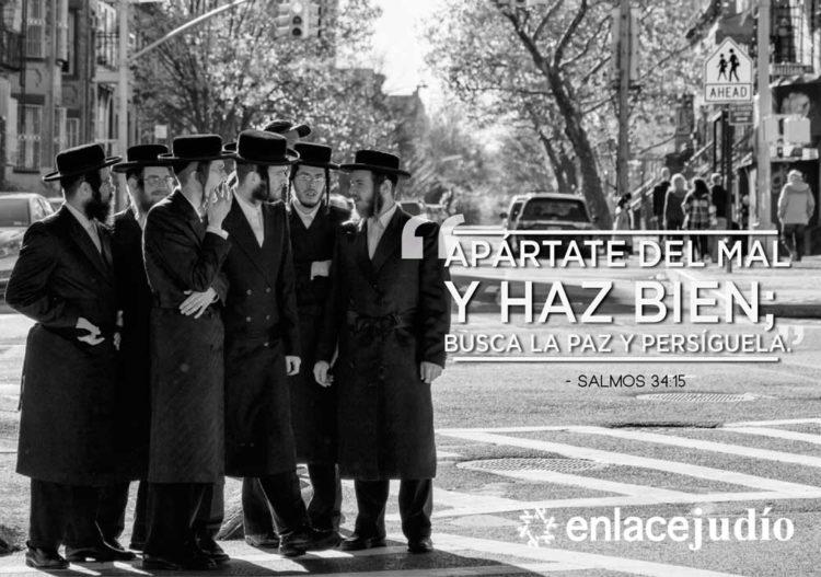 Apártate Del Mal Y Haz Bien Salmo Y Frase Judía