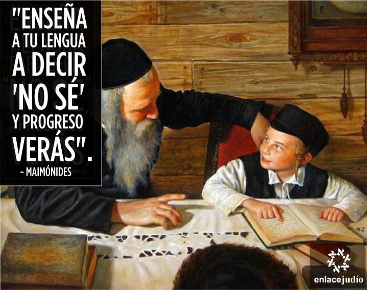 """La frase judía del día es: """"Enseña a tu lengua a decir…"""""""