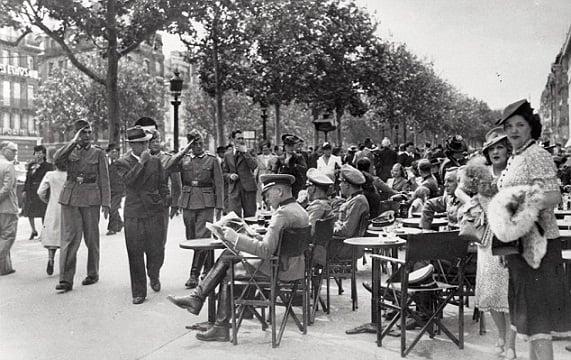 La situación de los judíos en el París ocupado por los nazis