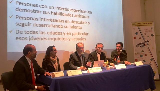 Irene Zundel y David Troice serán jurados en la iniciativa artística Sop-Art