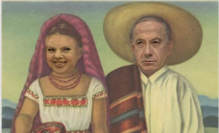 El humor en el marco de la visita de Netanyahu a México