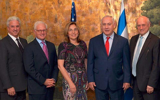Netanyahu se reúne con líderes judíos estadounidenses, en medio de la crisis entre Israel y la diáspora sobre el Muro Occidental