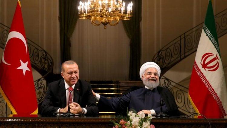 Erdogan y Rouhani se comprometen a enfrentar el independentismo kurdo