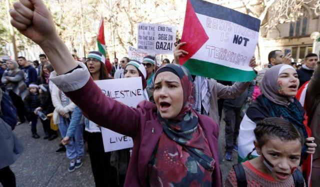 """""""El problema judío"""" de los palestinos"""