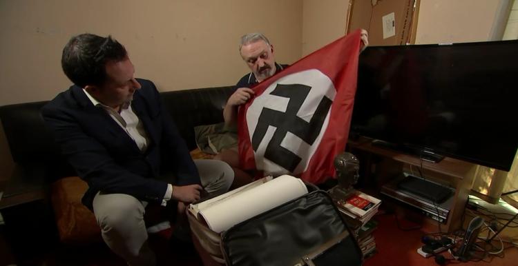 Neonazi revela su origen judío y su homosexualidad en TV británica