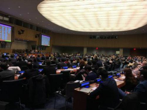 La Asamblea General de la ONU adopta nueve resoluciones que condenan a Israel en un solo día