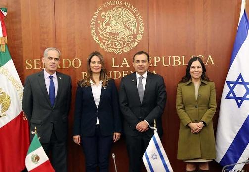 """""""Israel es un país hermano con quien México desea consolidar su relación bilateral"""": Ernesto Cordero"""