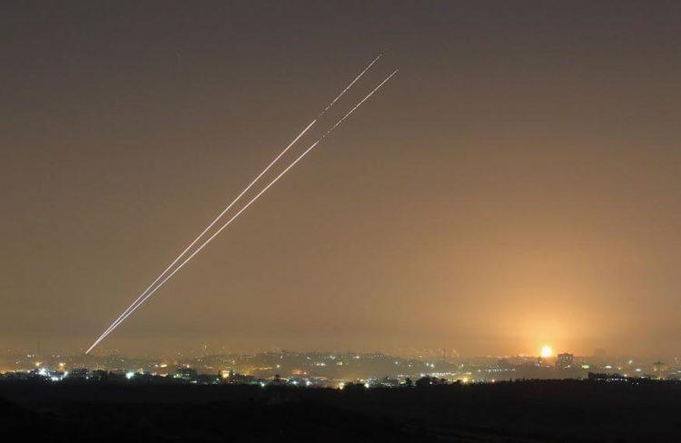 Lanzan cohetes desde Gaza en contra de Israel; no hay heridos ni daños
