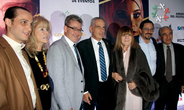 FOTOS Y VIDEOS/ Con alfombra roja, arranca la XV edición del Festival Internacional de Cine Judío en México