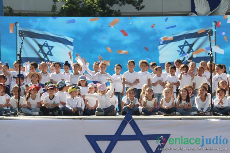 ¡Los festejos de Yom Haatzmaut en el Colegio Atid!