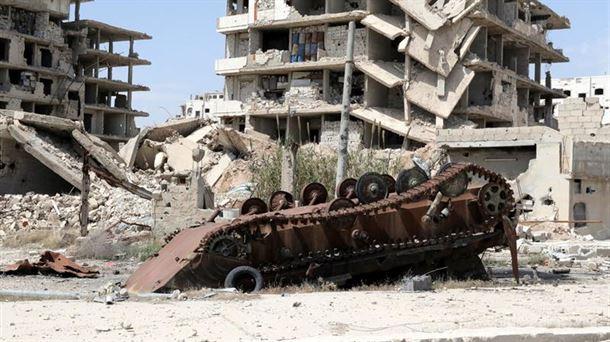 Siria: iraníes entre las bajas por un ataque a una base aérea.
