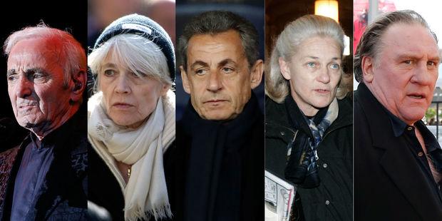 Francia: grito de alarma de Aznavour, Depardieu, Sarkozy y 250 personalidades contra el antisemitismo