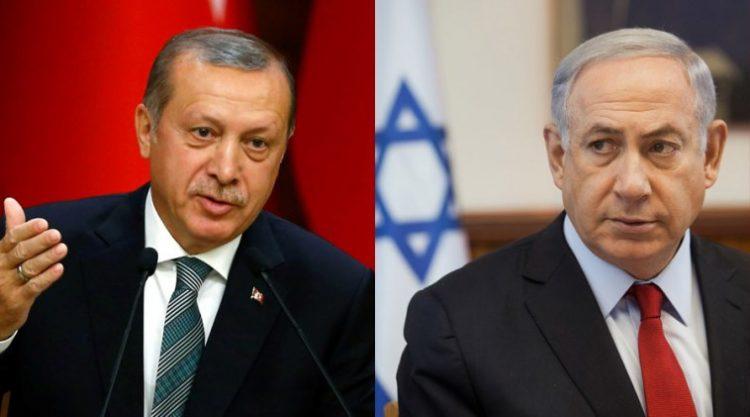 """Responde Netanyahu a Erdogan: """"Quien ocupa Chipre y masacra civiles en Afrin que no nos predique sobre valores y moral"""""""