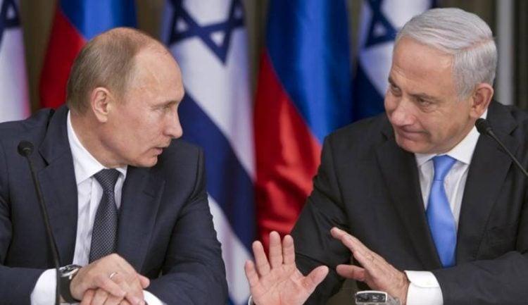 Pide Putin a Netanyahu que Israel se abstenga de intervenir en Siria