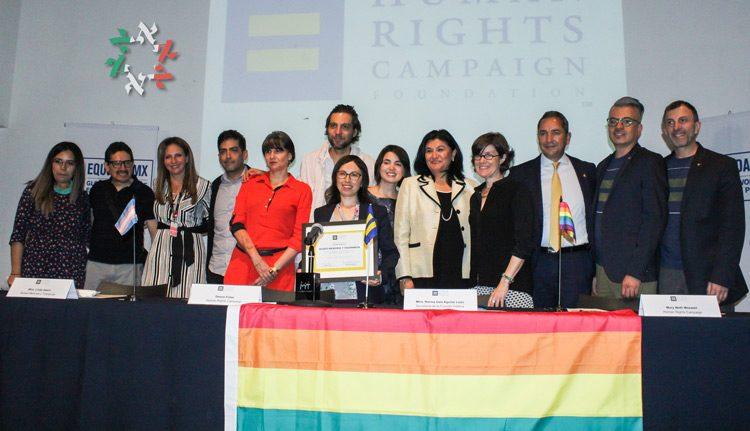 Museo Memoria y Tolerancia recibe reconocimiento de organización de DDHH por su compromiso con los derechos LGBT+