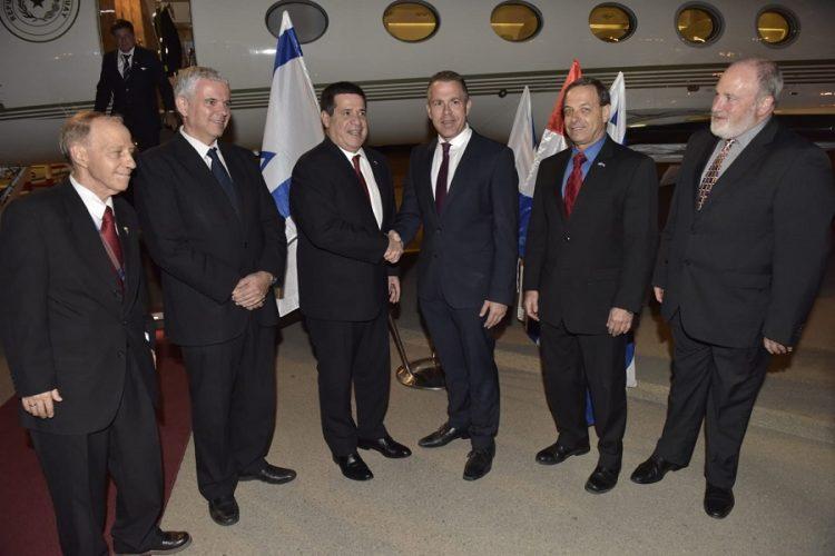 Resultado de imagen para paraguay inaugura embajada en israel