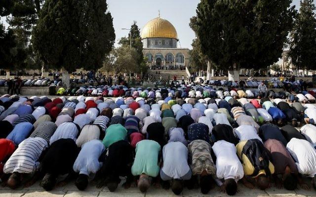 Israel se prepara para el primer viernes de Ramadán en medio de altas tensiones