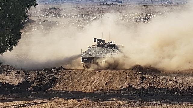 FDI lanzan ejercicio sorpresa en Los Altos del Golán