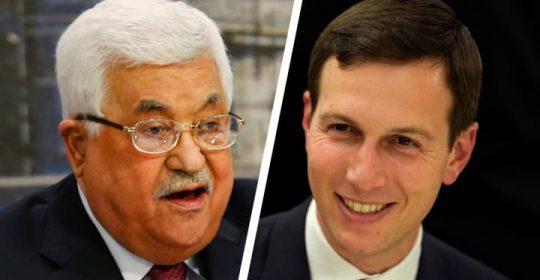 Kushner ataca a Abbas en entrevista a medio palestino, cuestiona su habilidad de lograr un acuerdo