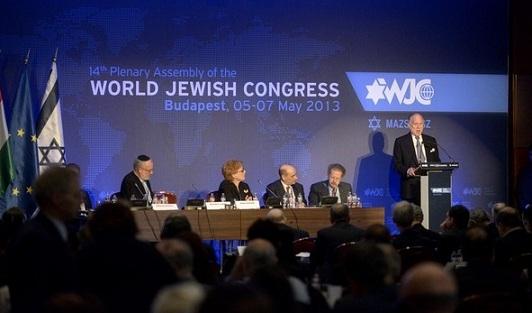 El Congreso Judío Mundial se reunió en Praga
