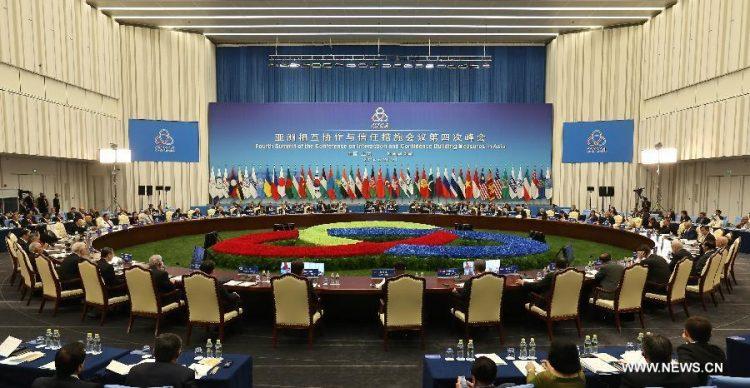 A la par del G7, China, Rusia e Irán realizan cumbre en Shanghái