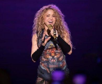 """Shakira retira símbolo de su gira y explica que el parecido con imagen nazi es """"involuntario"""""""