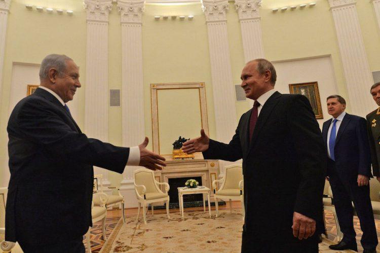 Israel actuará decididamente contra cualquier violación de su soberanía, dice Netanyahu a Putin