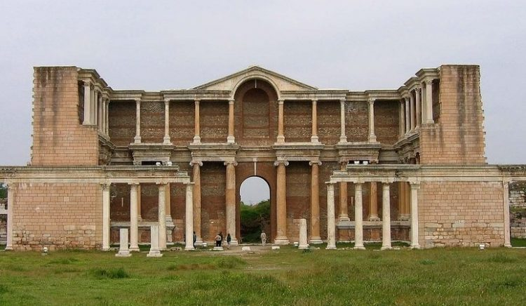 La sinagoga de Sardis