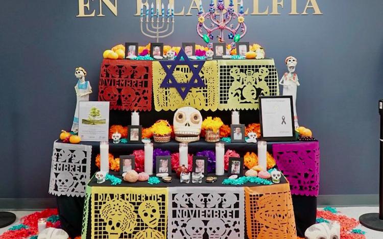 Consulado de México en Filadelfia dedicó ofrenda de Día de Muertos a víctimas de Pittsburgh