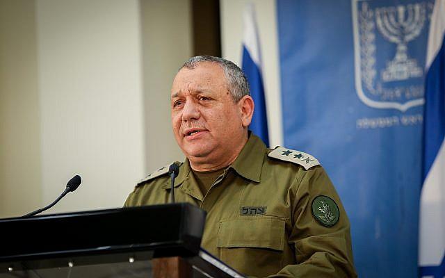 """Eizenkot: Hezbolá tenía un plan de ataque grandioso para """"sacar a Israel de su equilibrio"""""""