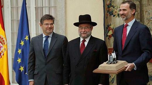 """Los judíos de España dan un premio al Rey Felipe VI por su apoyo """"continuo e inequívoco"""""""