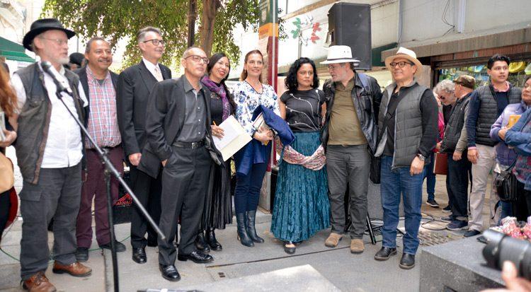 Beatriz Gutiérrez Müller y dos poetas judíos, en 'Maratón por un mundo sin muros'