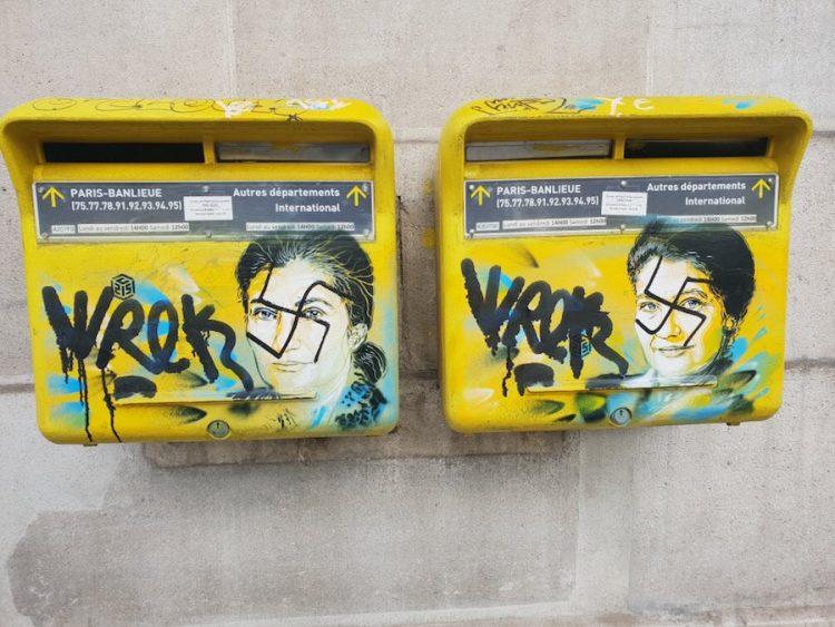 Descubren pintas antisemitas en París por segunda ocasión en 3 días