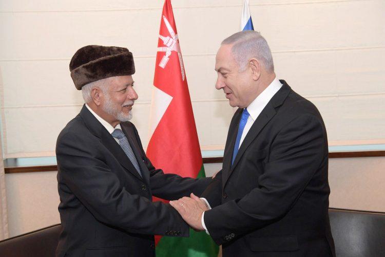 Netanyahu se reúne con el canciller de Omán en Polonia